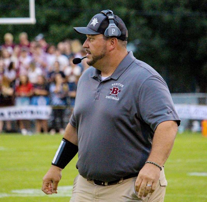 Justin Groves returns for his third season as Benton head football coach this season. Last year, the Rangers advanced to the second round of the playoffs.