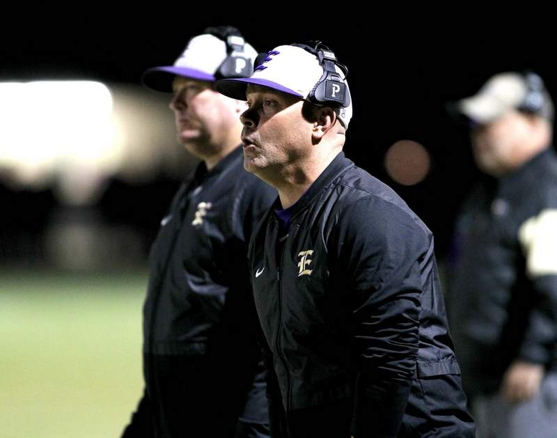 Eldorado head coach Joe Clark and the Eagles will play a modified 7-game spring schedule after the fall season was cancelled due to the COIVD-19 pandemic.