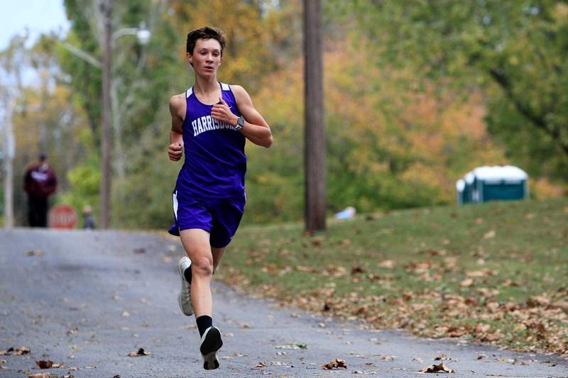 Harrisburg's Luke Winkleman had the top individual finish for the Bulldogs, crossing the line at 19:50 and placing 21st overall.