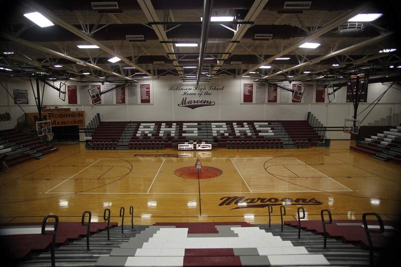 """High School gyms across the state of Illinois will sit quiet after the Illinois Governor and the Illinois Department of Public Health deemed the sport """"high risk"""" Tuesday."""