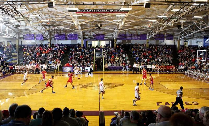 Throughout the last 56 years, the Eldorado Holiday Tournament has given basketball fans of all ages --young and old -- something to cheer for and something to see, much like this championship game in front of a packed house inside Duff-Kingston Gymnasium last year between Massac County and Fairfield.