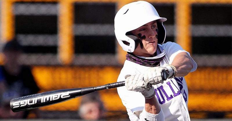 Ben Brombaugh went 2-for-3 with a home run in Monday's 6-0 win over Olney Richland County.