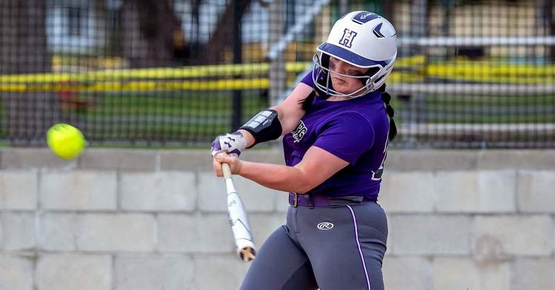 Harrisburg's Riley Wright was 3-for-4 in Monday's win over Hardin County.