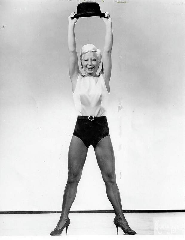 Bille Brosch Hayes, as the dancer. She was about 5-foot-2, and weighed 110 pounds.