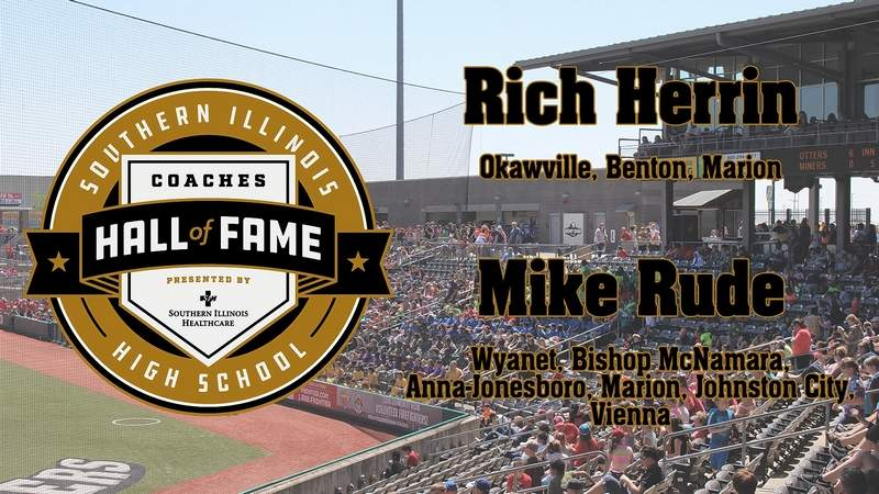 The Southern Illinois Miners games have provided a venue to inductions to the Southern Illinois Coaches Hall for Fame, beginning with local coaching legends Rich Herrin and Mike Rude.