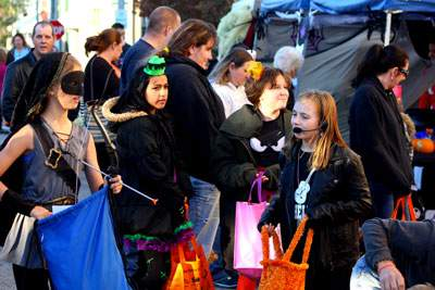Halloween fun at Scare on the Square